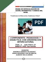 Modulo Pedagogia y Didactica Ciencia 07-09-12