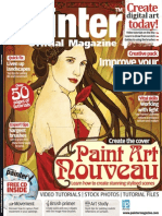 Corel Painter - 20 - Magazine, Art, Digital Painting, Drawing, Draw, 2d