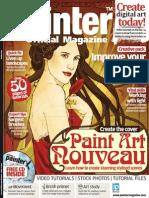 Corel Painter - 20 - Magazine, Art, Digital Painting, Drawing, Draw, 2d