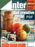 Corel Painter - 18 - Magazine, Art, Digital Painting, Drawing, Draw, 2d