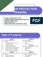 Radiation Protection Training