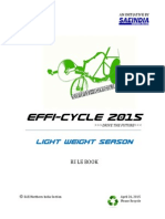 Efficycle 2015 Rulebook