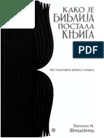 Kako Je Biblija Postala Knjiga - Vilijam Snidevind 2011