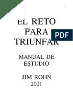 Rohn Jim - El Reto Para Triunfar (Manual de Estudio)