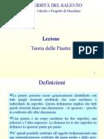 Lezione 1 - Teoria Piastre__2435120