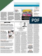 """""""La madre del cordero"""", por el presidente de Proética Jorge Medina"""