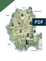 Harta scriitorilor romani.doc