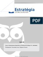 Apostila Conhecimentos Especificos Pedagógicos 2013