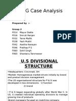 P&G Final Case Analysis