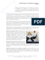 CAD Management Habilidad Para Delegar