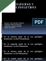 Eras Geológicas y Eventos Evolutivos