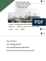 1 ChemPlantDesign-Intro to Plant Design Economics