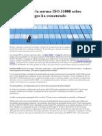 2015-05-13 - La revisin de la norma ISO 31000 sobre gestin de riesgos ha comenzado.pdf