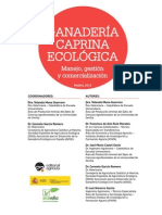 GANADERÍA CAPRINA ECOLÓGICA Manejo, gestión y comercialización