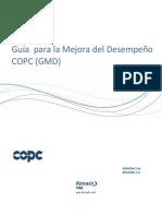 Guía para la Mejora del Desempeño COPC (GMD) - Version 5 0 rev 1 0