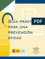 Guía Práctica Para Una Prevención Eficaz