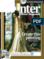 Corel Painter - 24 - Magazine, Art, Digital Painting, Drawing, Draw, 2d