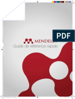 Mendeley Guide de Référence Rapide