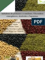 Inibidores de Proteases e Amilase, Glicosideos Cianogenicos, Alcaloides e Saponinas