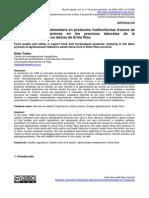 Calidad y Seguridad Alimentaria en Productos Frutihortícolas Frescos de Exportación Implicaciones en Los Procesos Laborales de La Agroindustria de Cítricos Dulces de Entre Ríos
