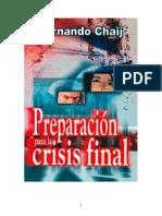 Fernando Chaij - Preparación Para La Crisis Final