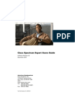 Cisco Spectrum Expert User Guide Version 4-0