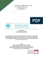 Schoolreglement 2015-2016