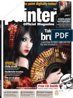 Corel Painter - 02 - Magazine, Art, Digital Painting, Drawing, Draw, 2d