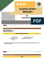 Taller de Lectura y Redaccion i (1)