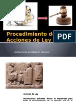 Procedimiento de Acciones de Ley