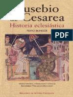 EUSEBIO de CESAREA Historia Eclesiastica BAC 2008