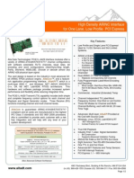 Alta Arinc  Mini PCI-E a429 Data Sheet