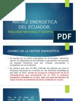 Matriz Energética Del Ecuador