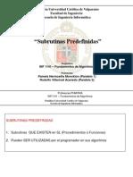06 Inf 1141 Semestre i 2015 Subrutinas Predefinidas