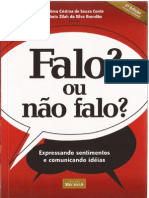 Conte & Brandão (2007) - Falo, Ou Não Falo; Expressando Sentimentos e Comunicando Idéias (2ª Ed.)