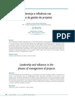 Lideranca Influencia Fases Gestao Projetos