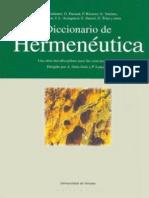 ORTIZ OSES a y LANCEROS P Dir Diccionario Interdisciplinar de Hermeneutica Universidad de Deusto 2001 1 Pag