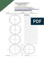 Form Deskripsi Praktikum Mineral Optik