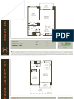 Midblock - 1 Bedroom Floor Plans.pdf