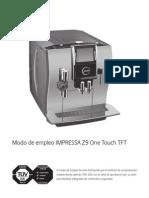 Manual de instrucciones Impressa Z9