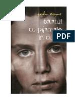 John Boyne - Baiatul cu pijamale in dungi (v1.0).doc