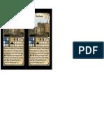 Auction Blueprint Card Sheet 12