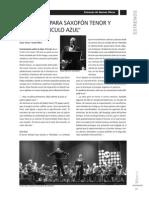 Circulo Azul [Concierto Para Saxofon Tenor & Banda Sinfonica]