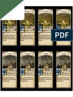 Auction Blueprint Card Sheet 5