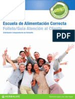 Folleto Guia Atencion Al Cliente