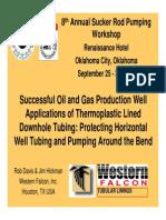 Presentation Western Falcon Plastic Tubing
