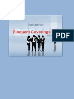 Eloquent Coverings Ltd - Company's Business Plan