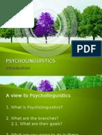 Psycholinguistics Introduction