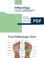 Reflexology Charts and Relaxation Techniques