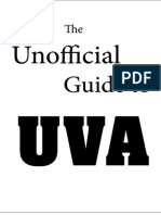 the unofficial guide to uva